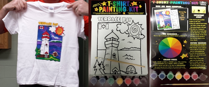 Paintable Shirt of Terrace Bay