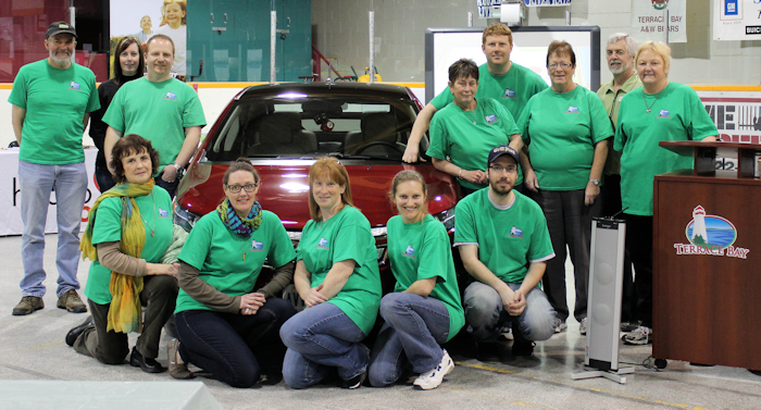 2012 Green Tradeshow Volunteer Organizers