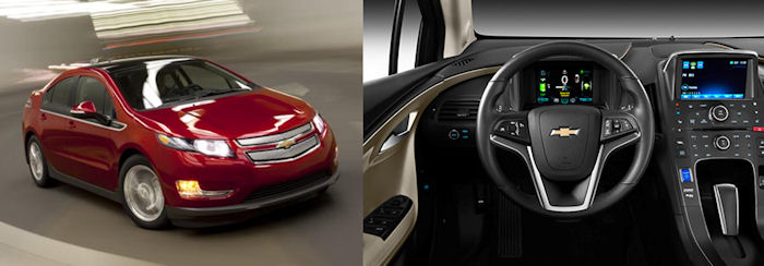 2012 Chevy Volt Exterior and Interior