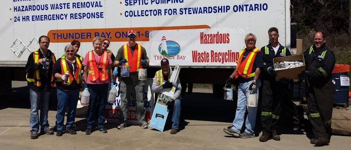 Hazardous Waste Day Volunteers