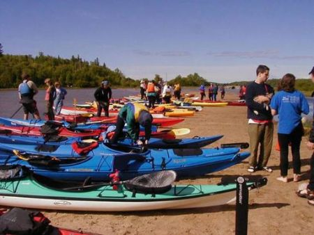 Superior Outfitters Kayaking