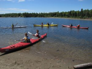 Kayaking in Terrace Bay