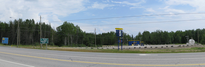 Panorama of Highway Commercial Area