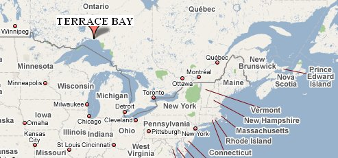 Why invest here terrace bay ontario canada for Terrace canada
