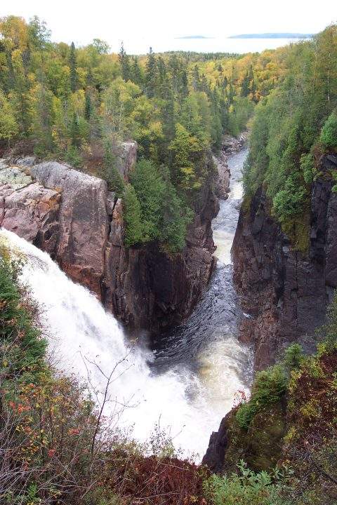 aguasabon falls gorge township of terrace bay. Black Bedroom Furniture Sets. Home Design Ideas