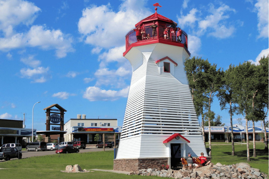 Terrace bay lighthouse township of schreiber for Terrace canada