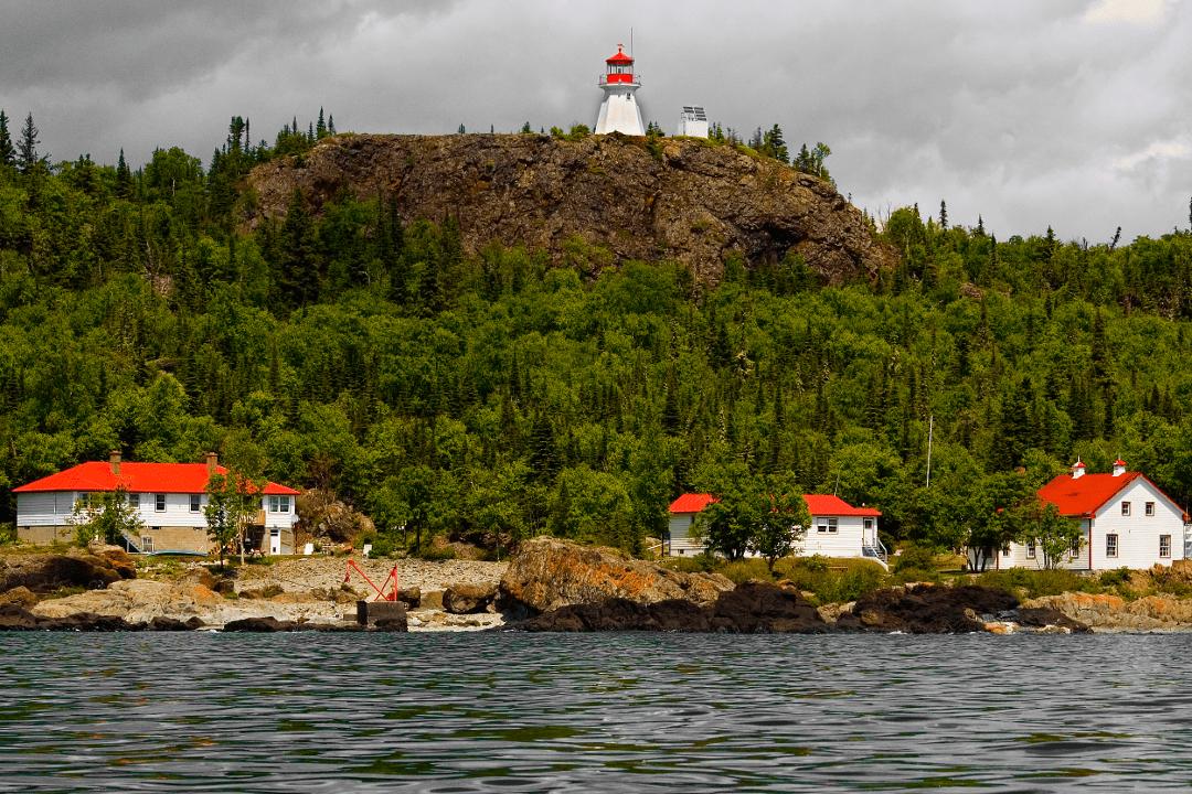 Camping Slate Islands