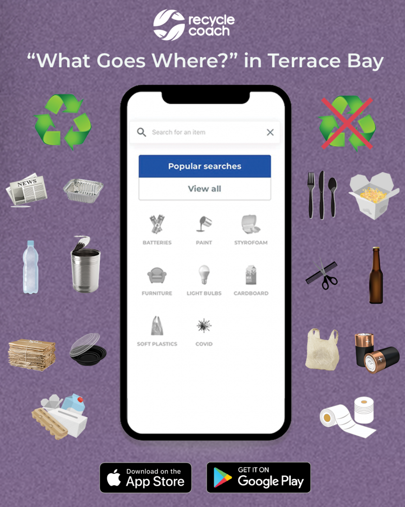 Recycle Coach - What Goes Where? In Terrace Bay