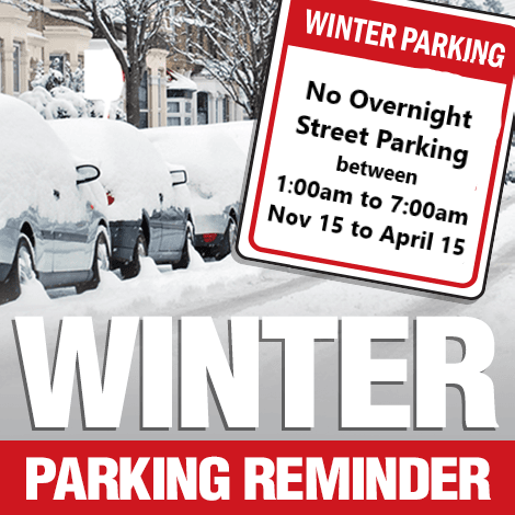 Winter Parking Reminder